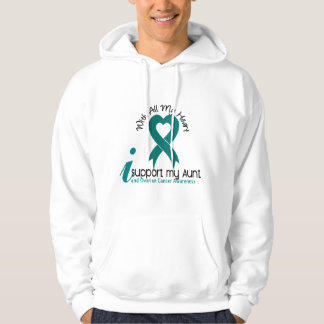 Ovarian Cancer I Support My Aunt Hoodie