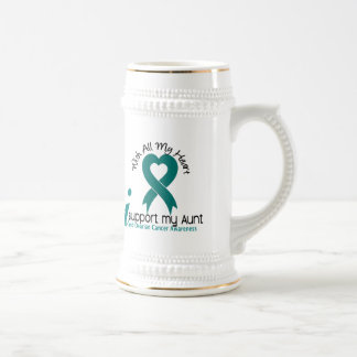 Ovarian Cancer I Support My Aunt Mugs