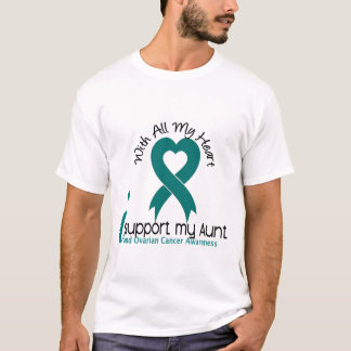 Ovarian Cancer I Support My Aunt T-Shirt
