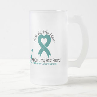 Ovarian Cancer I Support My Best Friend Mug