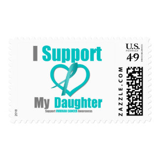 Ovarian Cancer I Support My Daughter Postage Stamps