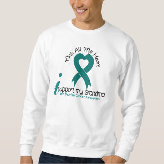 Ovarian Cancer I Support My Grandma Sweatshirt