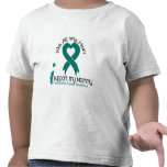 Ovarian Cancer I Support My Mommy Tshirts