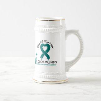 Ovarian Cancer I Support My Niece Mug