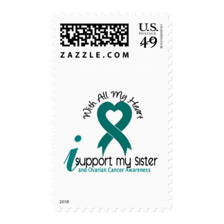 Ovarian Cancer I Support My Sister Postage