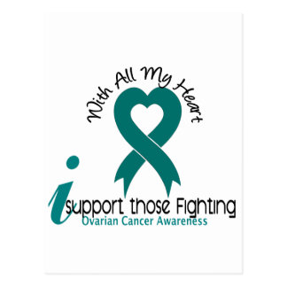 Ovarian Cancer I Support Those Fighting Postcard