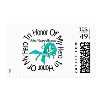 Ovarian Cancer In Honor Of My Hero Stamp