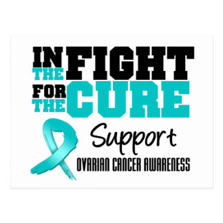 Ovarian Cancer In The Fight For The Cure Postcard