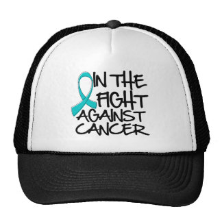 Ovarian Cancer - In The Fight Trucker Hat