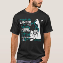 Ovarian Cancer Is A Journey Shirt Women Fight Canc