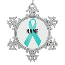 Ovarian Cancer Memorial Ornament
