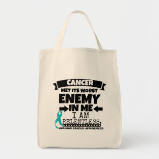 Ovarian Cancer Met Its Worst Enemy in Me Tote Bag