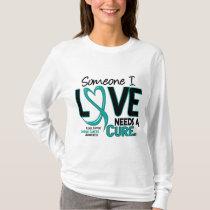 Ovarian Cancer NEEDS A CURE 2 T-Shirt