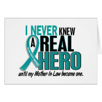 Ovarian Cancer NEVER KNEW A HERO 2 Mother-In-Law