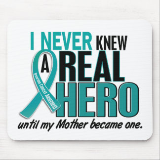 Ovarian Cancer NEVER KNEW A HERO 2 Mother Mouse Pad