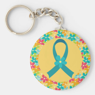 Ovarian Cancer or PCOS Awareness Gift Keychain
