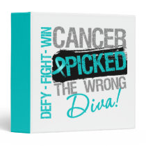 Ovarian Cancer Picked The Wrong Diva Binder