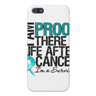 Ovarian Cancer Proof There is Life After Cancer iPhone 5 Cover