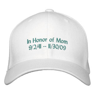 Ovarian Cancer Rememberance Hat