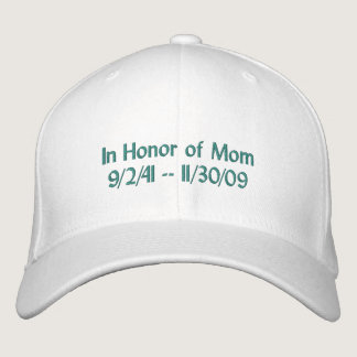 Ovarian Cancer Rememberance Hat