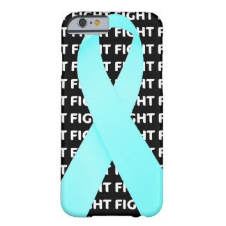Ovarian Cancer Ribbon iPhone 6 Case