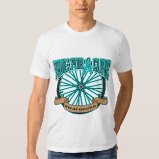 Ovarian Cancer Ride For Cure T Shirts