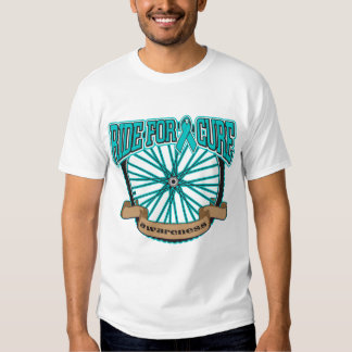 Ovarian Cancer Ride For Cure T-shirts