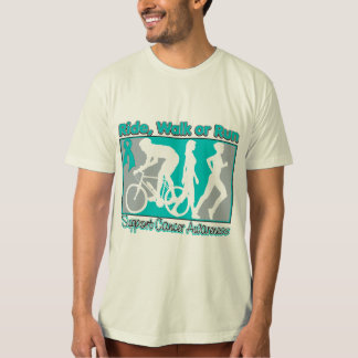 Ovarian Cancer Ride Walk Run Shirt