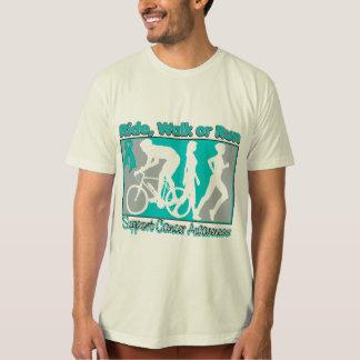 Ovarian Cancer Ride Walk Run T-Shirt