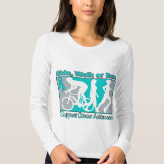 Ovarian Cancer Ride Walk Run T Shirts