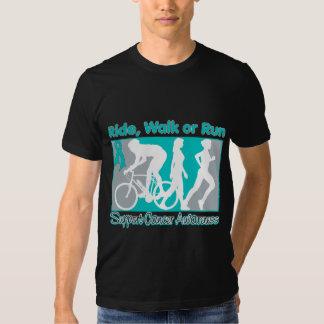 Ovarian Cancer Ride Walk Run Tshirt