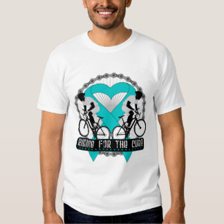 Ovarian Cancer Riding For The Cure T Shirt