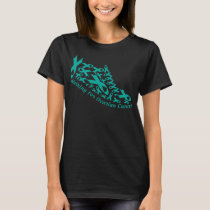 ovarian cancer shoes T-Shirt