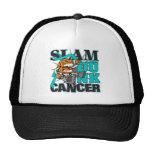 Ovarian Cancer - Slam Dunk Cancer Mesh Hats