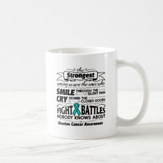 Ovarian Cancer Strongest Among Us Coffee Mug