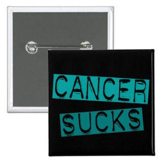 Ovarian Cancer Sucks 2C Pinback Button