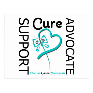 Ovarian Cancer Support Advocate Cure Postcard