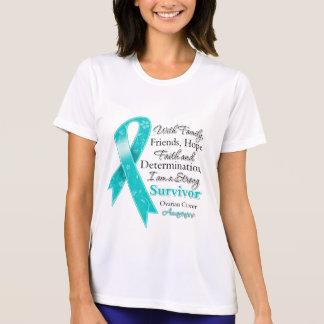 Ovarian Cancer Support Strong Survivor Shirt