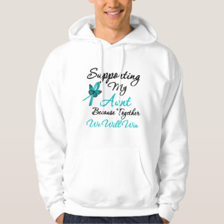 Ovarian Cancer Supporting My Aunt Hoodie