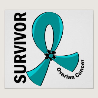 Ovarian Cancer Survivor 12 Poster