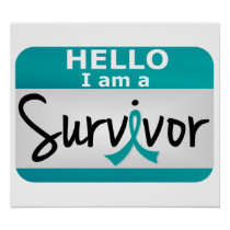 Ovarian Cancer Survivor 24.png Poster
