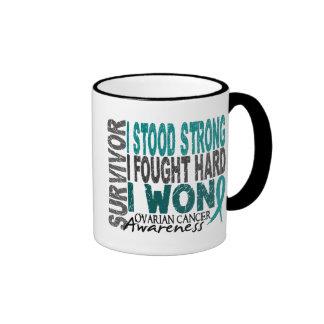 Ovarian Cancer Survivor 4 Ringer Mug