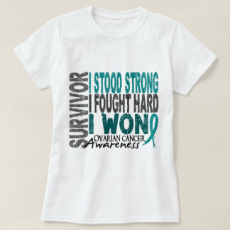 Ovarian Cancer Survivor 4 T-Shirt