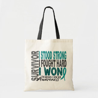 Ovarian Cancer Survivor 4 Tote Bag
