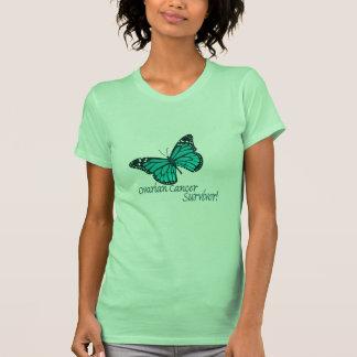 Ovarian Cancer survivor butterfly Tshirts