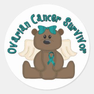 Ovarian Cancer Survivor Classic Round Sticker