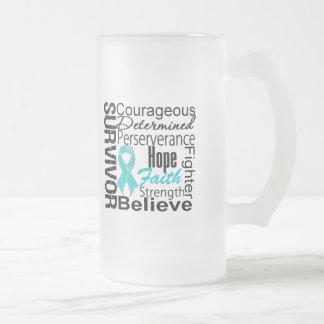 Ovarian Cancer Survivor Collage Mugs