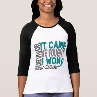 Ovarian Cancer Survivor It Came We Fought I Won Shirt