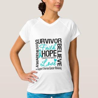 Ovarian Cancer Survivors Motto T-shirt