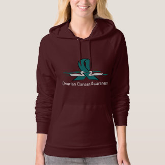 Ovarian Cancer Swans of Hope Hoodie